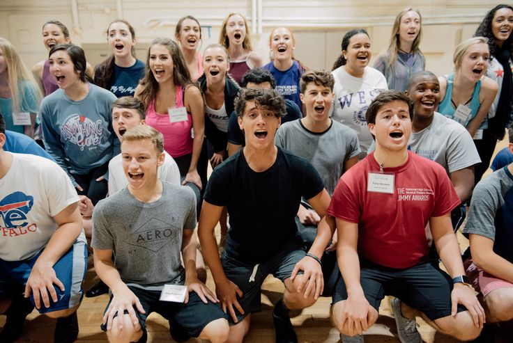 This year, 74 of the nation's most talented theatrical hopefuls took the stage for the Jimmy Awards, now in its ninth year.