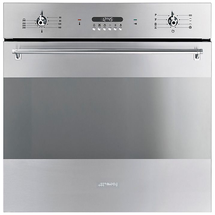 Buy Smeg SFP378X Single Electric Oven, Stainless Steel Online at johnlewis.com
