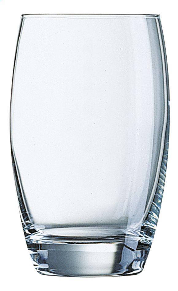 Deze 6 waterglazen Salto (35 cl) van Arcoroc zijn perfect voor water, frisdranken, fruitsap enz.