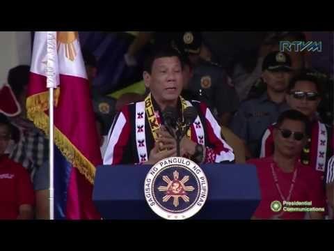 Duterte News - Kaamulan Festival (Speech) 3/25/2017