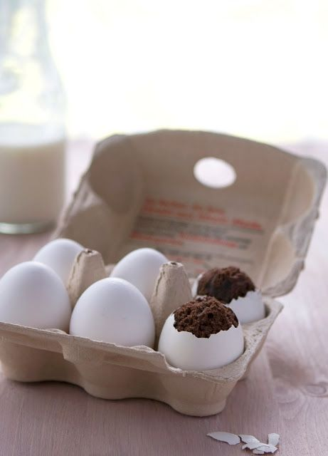 #Brownies in #eggs? Awesome