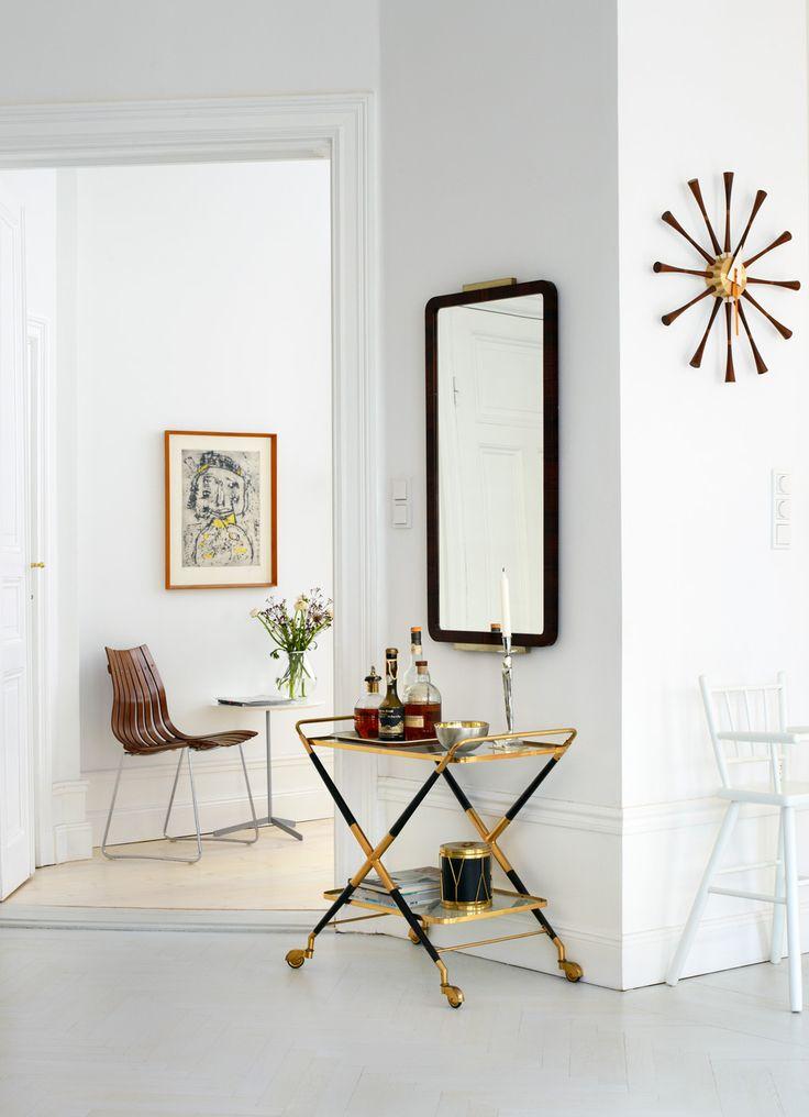 Joanna Lavén - Set & Prop stylist - Agent Molly & Co: Interior Design, Decor, Joanna Lavena, Interiors, Drinks Trolley, Barcarts, Living Room, Bar Carts, Space