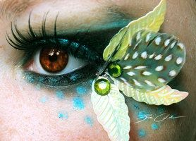 By PixieCold. http://shop.deviantart.com/wallart/?qh=__in:traditional/bodyart/cosmetic/makeup
