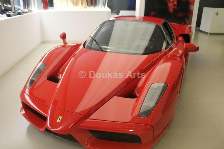 Enzo Ferrari - Ajoneuvot