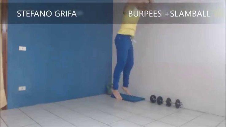 Burpees + SlamBall -  PALLA MEDICA