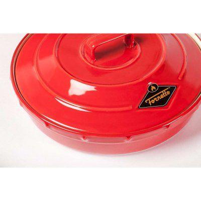 Fornetto Ceramic Garlic Roaster and Tortilla Warmer - 82-CE-4