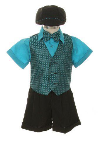 Dress Suit Outfit Set-Shorts,Bowtie,Vest, Short « Clothing Impulse