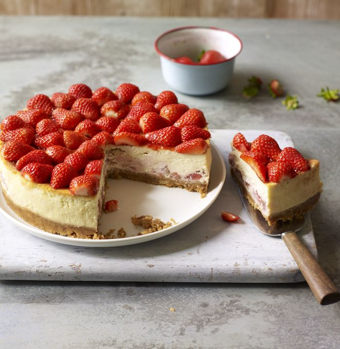 The Hairy Bikers give cheesecake a Polish twist with vodka infused strawberries