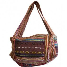 Nepal Duffle Bag - Décor Panel   Hip Angels These are a new  range of Nepal Duffle Bags.  These bags are very practical for the adventurous types as they are ideal to be taken on trekking.    Made from 100% natural cotton material they also have an internal double biodegradable plastic which makes the bag more durable and longer-lasting.  #Wholesaler_Bags #Wholesale_Bag #Bag_Wholesale #Bags_Wholesaler #Rucksack #Fashionable_Rucksack