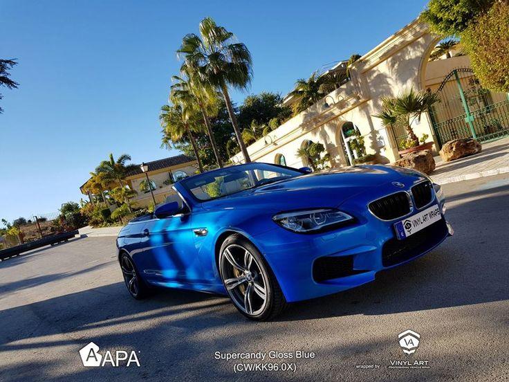 Super Candy Blue (CW/KK96.0X)  #apaspa #apafilms #supercandyblue #candyvinyl #pellicoleadesive #carwrapping #carwraps #apainside