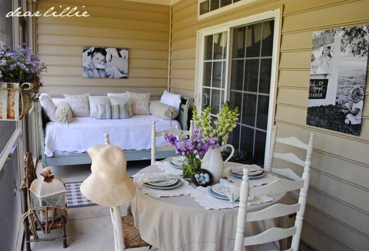 back porch love!