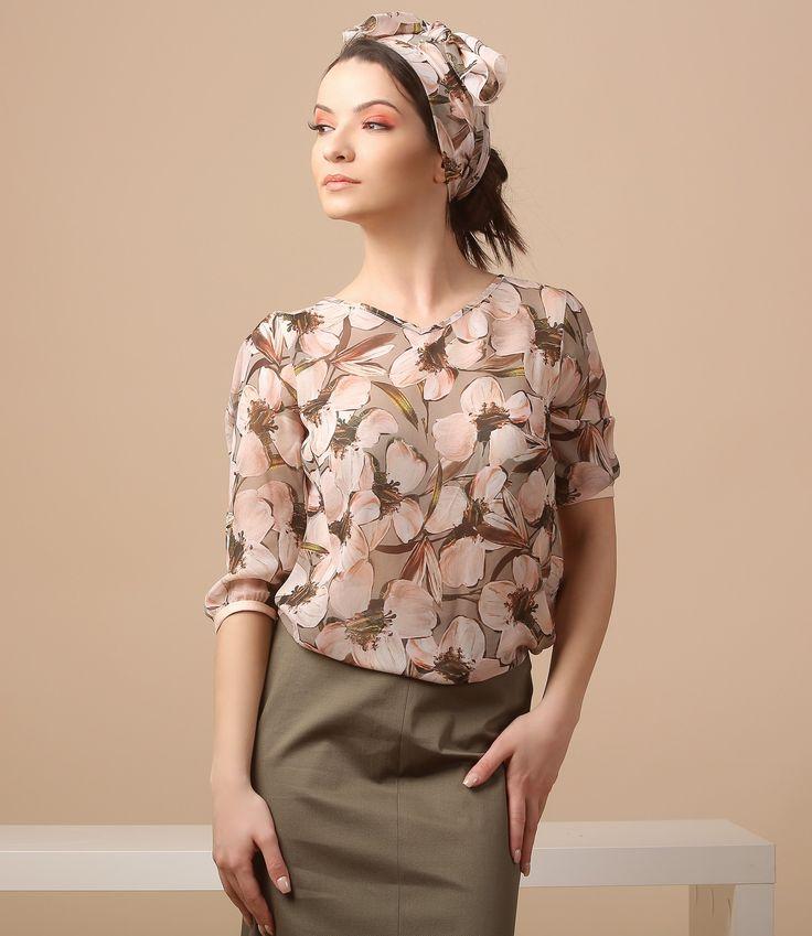 This spring wear magnolias! YOKKO | spring17 #top #floralprints #magnolia #spring17 #newcollection #trend #fashion #romantic #yokko #style #women