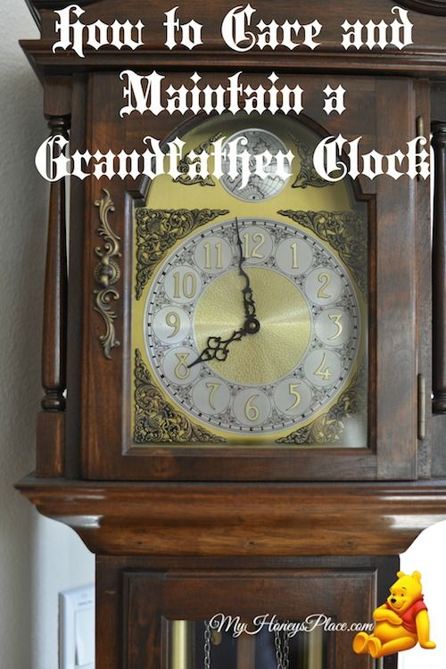 How to Care and Maintain a Grandfather Clock