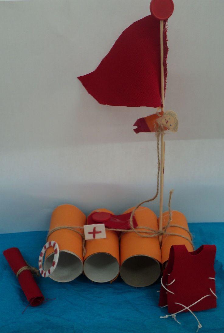 Záchranné plavidlo - kruh, vesta, lékárnička, lehátko