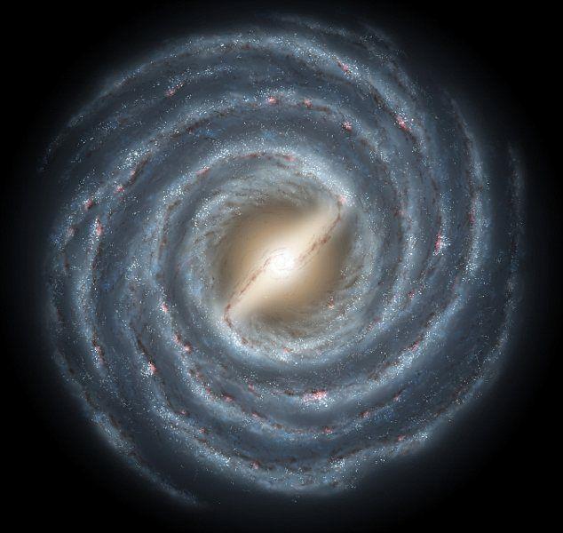 Si no podemos observarla desde la distancia, y estamos dentro de ella. ¿Cómo es posible que sepamos cuál es el tamaño de la Vía Láctea? La respuesta está en un tipo de estrella variable al que conocemos como Cefeidas... #astronomia #ciencia
