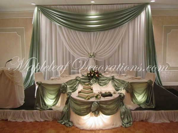 Elegant Wedding Backdrops Wedding Reception Muted
