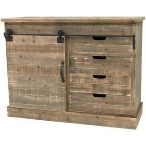 buffet bahut bahut console commode meuble de cuisine bois campa