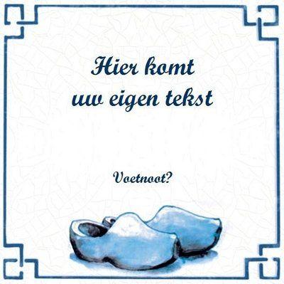 Delfts Blauw tegeltje (nr.52)
