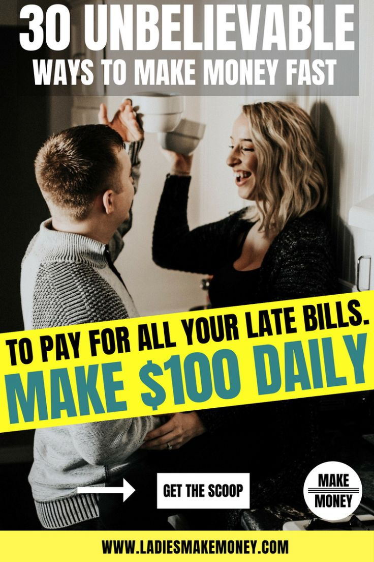 30 Ways to Make Money Fast to Pay for those Crazy Piling Bills – Budgeting