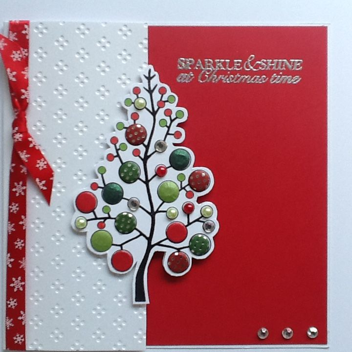 Stamps For Card Making Ideas Part - 28: Woodware Christmas Tree Stamp