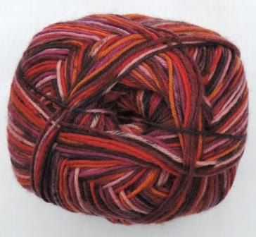 Hot Socks Stripes 4-fach superwash - Tutti frutti stripes 1661-620, 75% Merino superwash by ColorfullmadeShop on Etsy