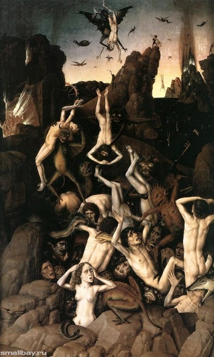 Dirk Bouts - The Fall Of The Damned, 1450
