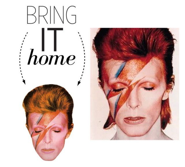 """""""Bring It Home: David Bowie Magnet"""" by polyvore-editorial ❤ liked on Polyvore featuring interior, interiors, interior design, home, home decor, interior decorating and bringithome"""