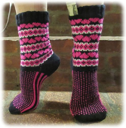Ravelry: Cupid's Favorite Socks pattern by Deborah Tomasello