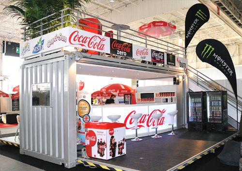 HT CONTAINER: Lanchonete Coca Cola