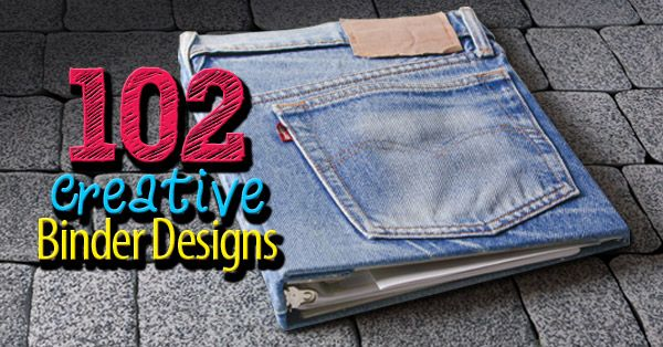 102 Incredibly Cool Binder Design Ideas for Inspiration