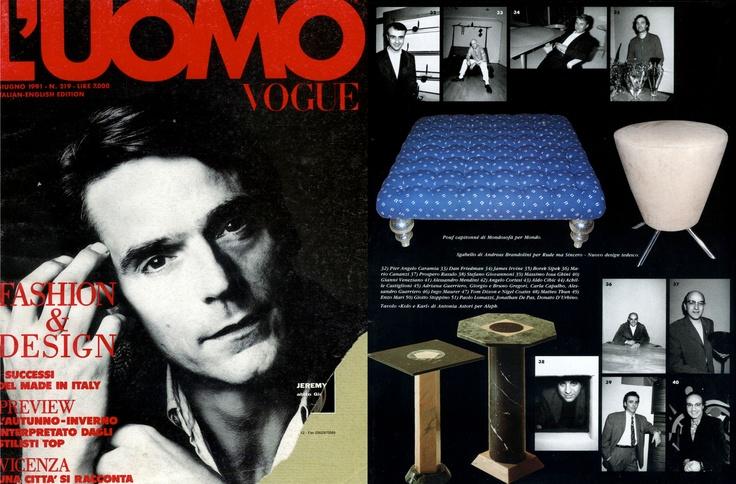 Gianni Veneziano   1991 L'uomo Vogue 219