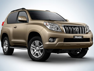 The Toyota Landcruiser Prado ZR 4x4 held 67.52 per cent of its original value after three years.