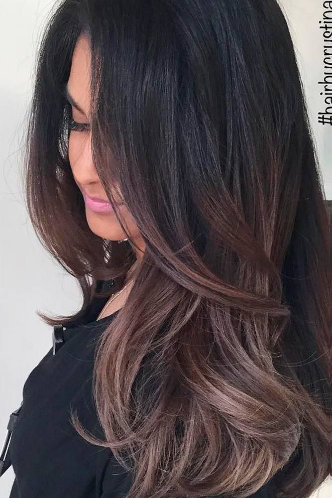 best dark ombre hair ideas on pinterest