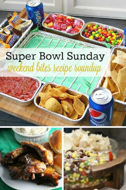 Recipe round up of super bowl sunday appetizers desserts for Super bowl appetizers pinterest