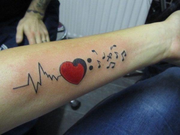 225 Best My Beating Heart Images On Pinterest: 17 Best Ideas About Ekg Tattoo On Pinterest