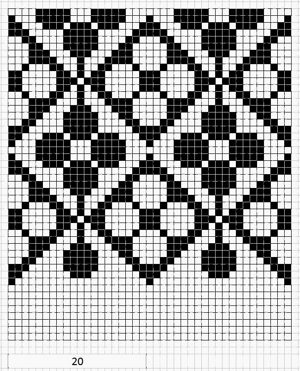 another graph for possible tapestry crochet