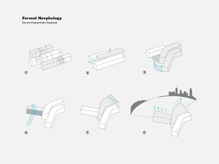 formal  morphology  massing  diagram