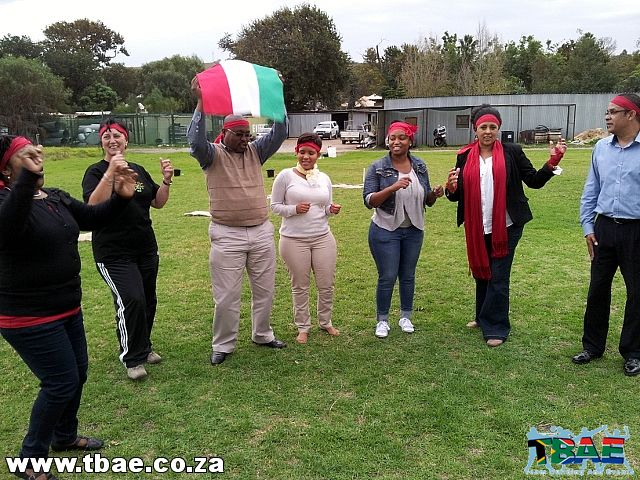 Engen SA Mini Olympics Team Building Event in Stellenbosch Cape Town