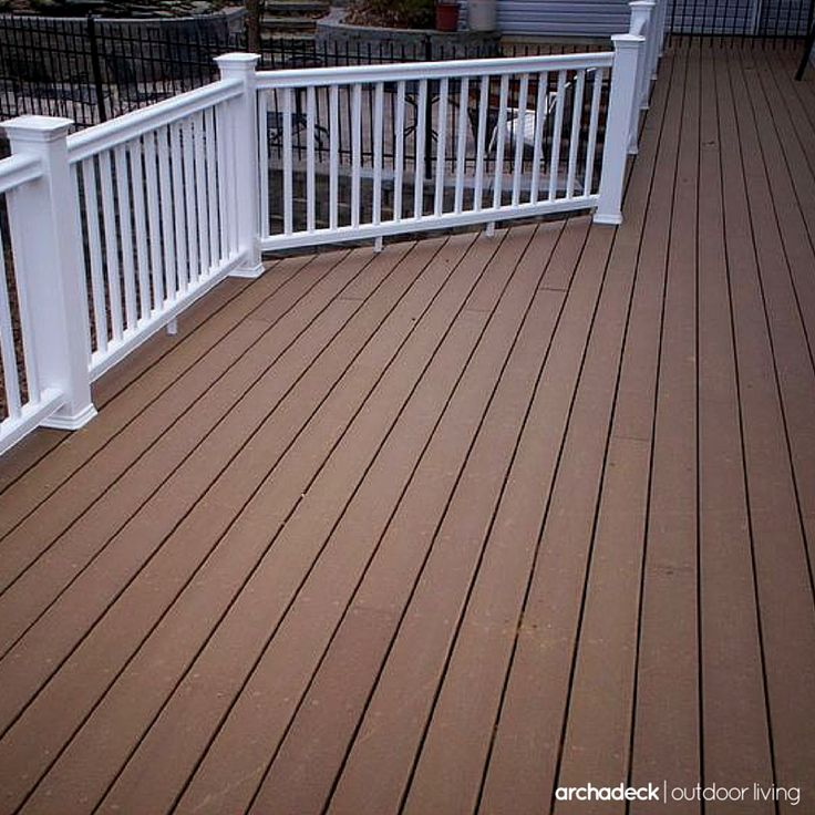 138 best images about composite low maintenance deck for White composite decking