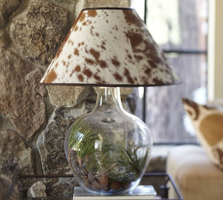 Pottery Barn Atrium Lamp: 1000+ Images About Eclectic Cowhide Decor On Pinterest