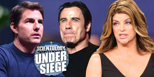The War Against Tom Cruise, John Travolta & Kirstie Alley's Controversial Religion Explained In 17 Clicks!