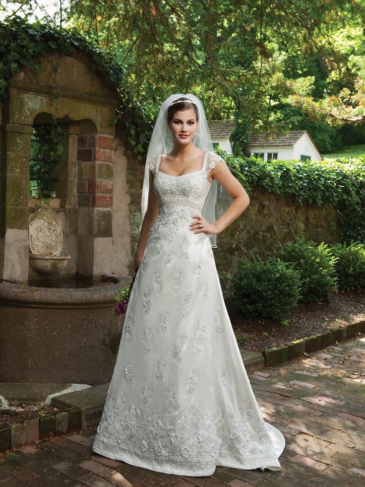 Kathy Ireland For Mon Cheri Wedding Dresses Style I231101s