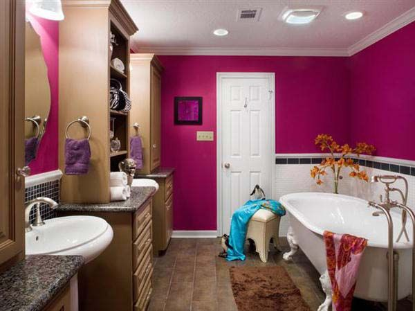 Attractive Creating And Designing Teenage Bathroom Ideas