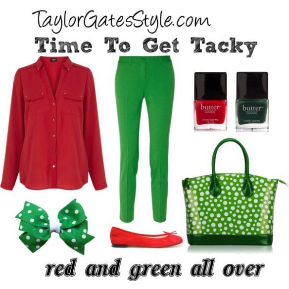 Time To Get Tacky - non-sweater Tacky Christmas Party Outfits :: TaylorGatesStyle.com