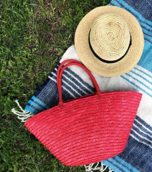 Модные сумки-корзины: где купить и с чем носить плетеную сумку