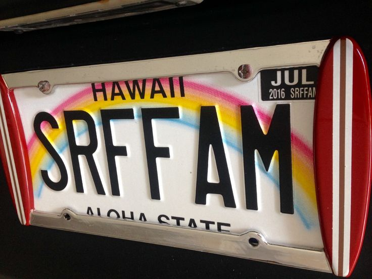 1000 Ideas About License Plate Frames On Pinterest
