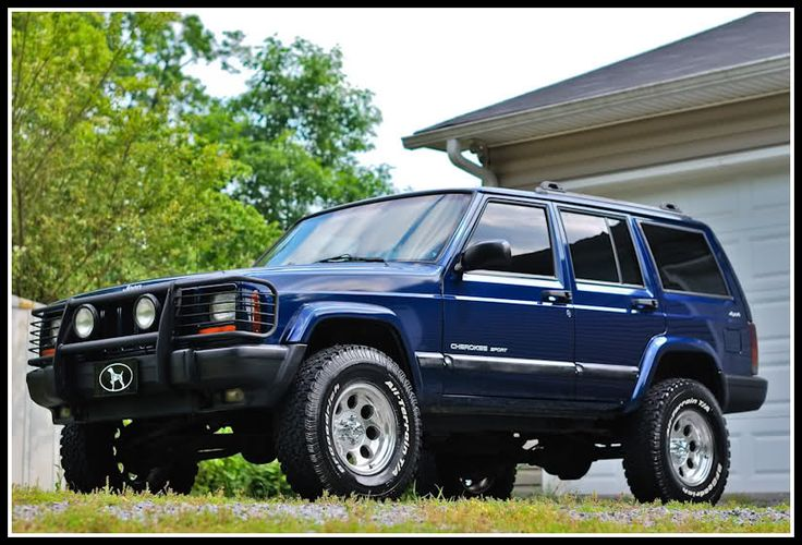Lift Kits For Jeeps >> Clean 2001 Jeep Cherokee Sport 4x4 - Georgia Outdoor News ...