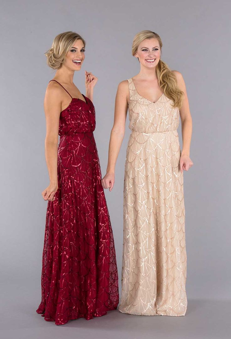 18 best sequin bridesmaid dresses images on pinterest sequin add glitz and glam to your wedding day with sequin bridesmaid dresses ombrellifo Choice Image