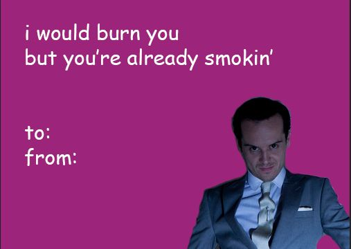 """21 Valentines For The """"Sherlock"""" Fan In Your Life"""