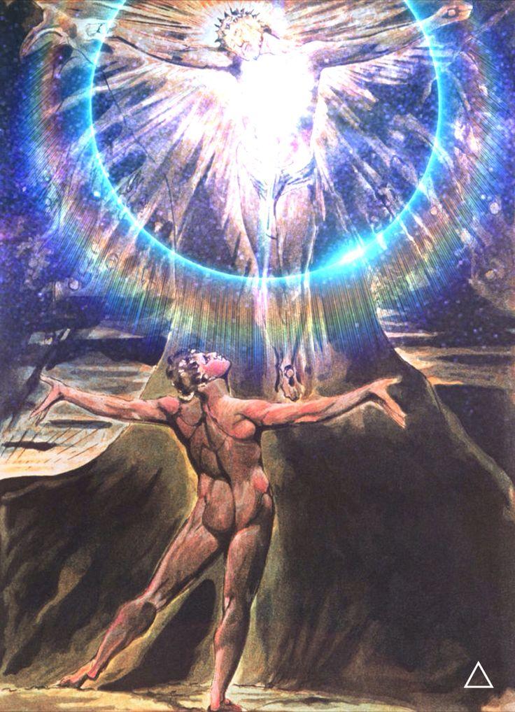 'Awake! awake O sleeper of the land of shadows. Wake! Expand! I am in you and you in me, mutual in love divine.' - William Blake #lightisthenewblack #williamblake